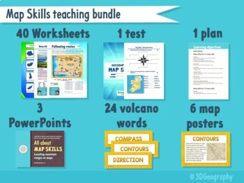 Bundle - Maps skills resources