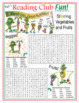 Bundle: March Into Good Nutrition Two-Page Activity Set and Word Search Puzzle