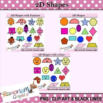 Shapes Clip art Bundle