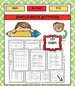 Bundle Math Activities K-2