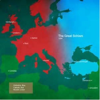 Bundle of 2 - Middle Ages - Church Controversies and the Great Schism