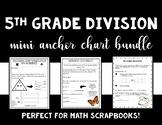 Bundle - Mini Anchor Charts for Math Scrapbooks - 5th Grad
