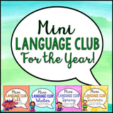 Bundle: Mini Language Club for the Year