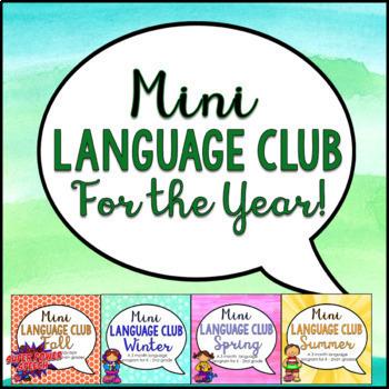 Bundle: Mini Language Club for the Year
