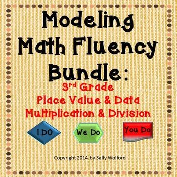 Bundle: Mastering Math Fluency - Place Value, Data, Multiplication & Division