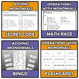 Bundle - Monomials 7 ITEMS