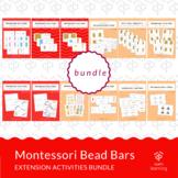Bundle Montessori Bead Bars extension activities