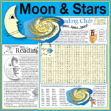 Bundle: Moon and Stars Activity Page and Outer Space Puzzle