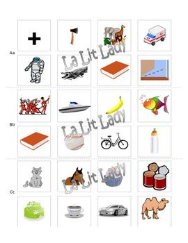 Bundle My Alphabet Book & Searching for Sounds of the Alphabet