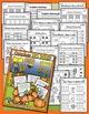 Fall Bundle - NO PREP Math & Literacy (Kindergarten) - (Se