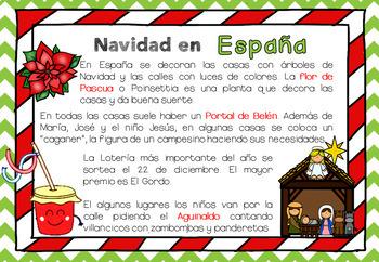 Bundle Navidades alrededor del mundo. Christmas around the world en español