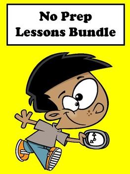 Bundle-No Prep Lessons (120 pages)