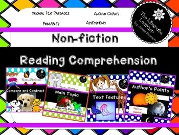 Bundle:  Non-Fiction Close Reading and Comprehension 2nd and 3rd Grades