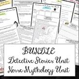 Bundle: Norse Mythology Unit and Detective Stories Unit