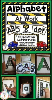 Number and Alphabet Tracing Posters BUNDLE: Road and Transportation Theme