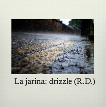 Bundle: Ojalá que Llueva Café Spanish Song Powerpoint & Question Guide