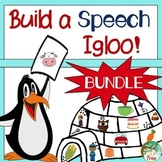 Winter Articulation: Build A Speech Igloo Bundle!