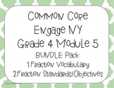 Bundle Common Core Engage NY Fractions Posters Vocabulary