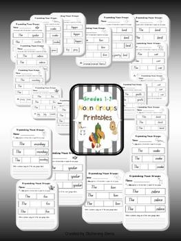 Literacy and Math Bundle - K-1