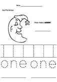 Bundle Pack - Pre Kinders - Counting and Tracing Number 1 to 10