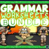 Grammar Worksheets Bundle - Nouns, Verbs, Adjectives, Synonyms and Antonyms!