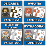 Bundle - Paper toys - 8 ITEMS