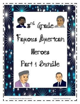 Bundle-{ Part 1} Chavez, Eleanor Roosevelt, Frederick Douglass, Lyndon B Johnson