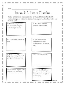 Bundle-{ Part 2} Bethune, Paul Revere, Susan B Anthony, Thurgood Marshall