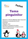 Bundle Penguin Theme Class Decor in Romanian, Pachet cu te