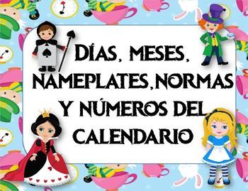 Bundle Pequeño Motivo Alice in Wonderland