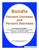 Bundle - Percent Increase and Percent Decrease