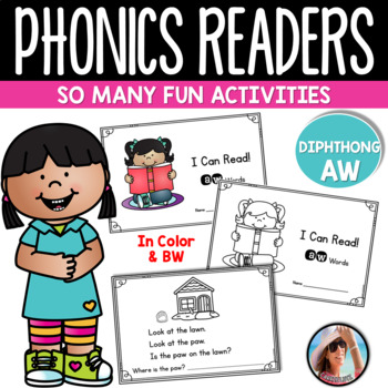 Bundle Phonics Emergent Readers for 9 Diphthong Sounds