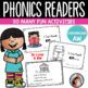 Bundle Phonics Emergent Readers for 9 Diphthong Sounds