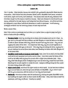 Bundle Phonics Lessons #1-10