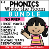 Write the Room Bundle - Phonics Resources