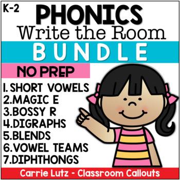 Write the Room Bundle - Phonics Resources