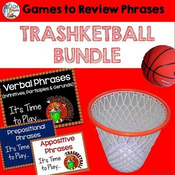 Phrases Bundle:  Three Trashketball Games