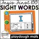 Playdough Sight Word Mats Fry The First Hundred Bundle