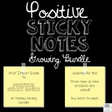 Positive Sticky Notes Growing Bundle