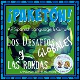 Bundle! Pre and AP Spanish * Los Desafíos Globales * Step by Step