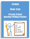 (German Language)Present Perfect / Das Perfekt Weak Verbs