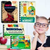 Bundle Primary Writing Practice Workbooks
