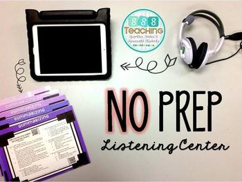 Bundle - QR Listening Center and Work Mats