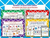 Bundle: Question Cards; Where; Which One; What; Autism; Sp