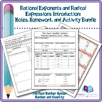 Bundle: Rational Exponents and Radical Expressions