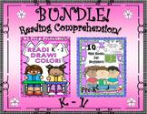 Bundle Reading Comprehension Passages and Questions!  Games!  Mini Books!  K - 1