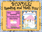 Bundle! Reading Comprehension Passages and Questions!  Math Game!  Grades 1 - 3