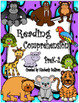 Bundle Reading Comprehension Passages and Questions No Prep READ DRAW COLOR!