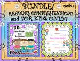 Bundle Reading Comprehension Passages and Questions! Sight Words! FOR KIDS ONLY!