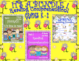 Bundle Reading Comprehension Passages and Questions Spring too!